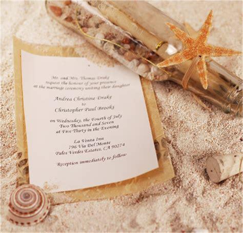 unique wedding invites unique wedding invitations message in a bottle our wedding plus