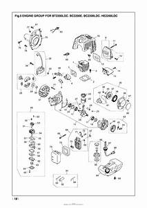 Red Max Bc2200e-09  98 Parts Diagram For 005