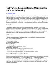 career objective for bank resume banking resume for graduates sales banking lewesmr