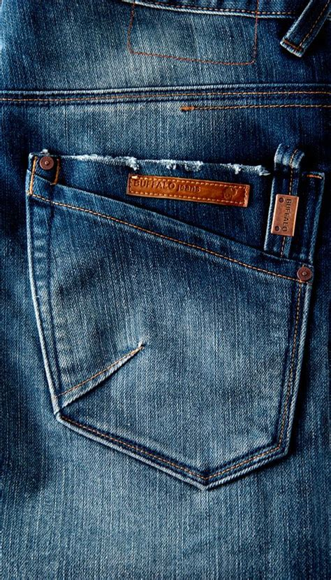 denim trouser buffalo pockets and on