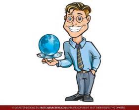 Business Man Cartoon Character