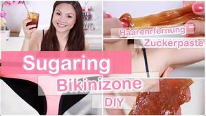 Dauerhafte Haarentfernung Selber Machen : bikinizone haarentfernung sugaring zuckerpaste selber machen diy mamiseelen youtube ~ Frokenaadalensverden.com Haus und Dekorationen