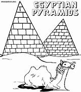 Coloring Egypt Pages Ancient Pyramid Print Pyramids Colorings Egyptian Printable Silhouette Thursday Getdrawings Building Mayan Getcolorings sketch template
