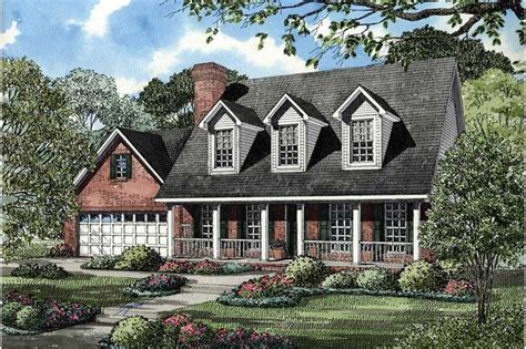 cape  country home   bedrooms  sq ft house plan   tpc