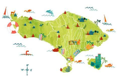 bali maps  hellobali  astrid prasetianti design map