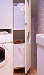 Waschmaschinenschrank Mit Tür : nahaufnahme von lill ngen w scheschrank in wei mit ge ffneter t r zuhause pinterest ~ Eleganceandgraceweddings.com Haus und Dekorationen