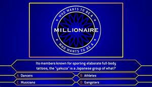who wants to be a millionaire game powerpoint template With who want to be a millionaire game template