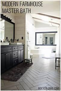 Endearing 40+ Master Bathroom Farmhouse Design Inspiration