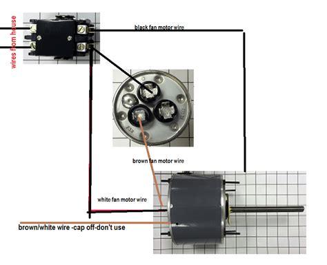 universal condenser fan motor universal condenser fan motor wiring diagram efcaviation com