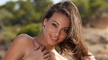 Lorena Garcia Metart Face Angel Heaven Wallhere