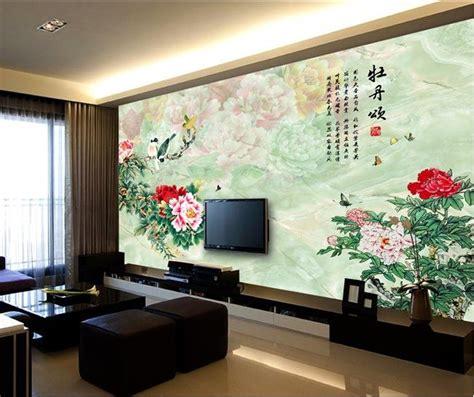 large  dimensional wallpaper  wallpaper tv wall