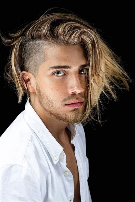 side part hairstyle  men   stylish