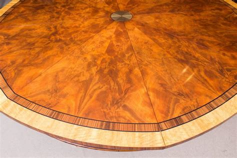 theodore alexander flame mahogany jupe dining table  ten chairs  stdibs