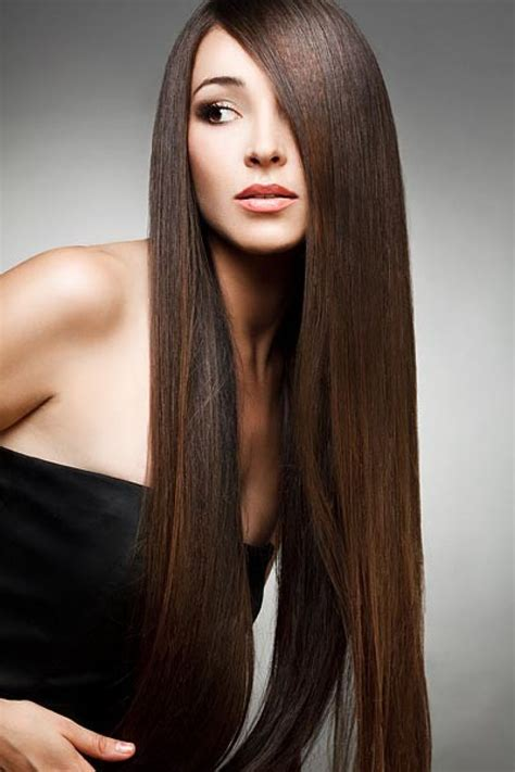 long straight brunette hairstyles hairstyle for women man