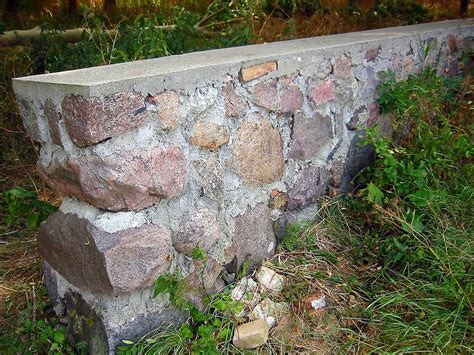 mauer bauen fundament mauer