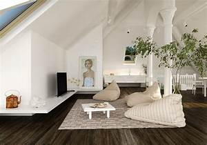 The Art Of Sloped Ceiling Spaces