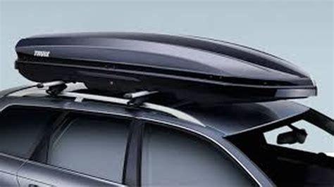 porta pacchi per auto baule portapacchi auto le proposte di thule autotoday it