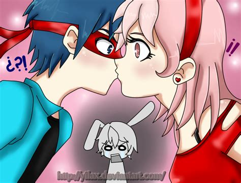Splendid And Giggles Kiss And Cuddles By Yilax On Deviantart