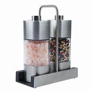 Räder Salz Und Pfeffer : menage mit salz und pfefferm hle 140 65g mit keramik mahlwerk 16 8cm 205g 2 st bos food ~ Sanjose-hotels-ca.com Haus und Dekorationen