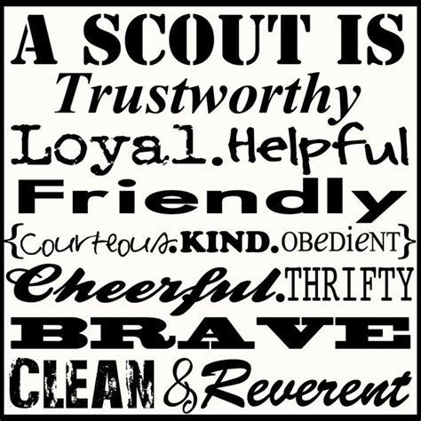 Boy Scout Law Clipart & Clip Art Images #14599 ...