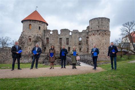 Jaunā Cēsu novada vadītāji vienojas kopīgam darbam Eiropas kultūras galvaspilsētas titulam ...