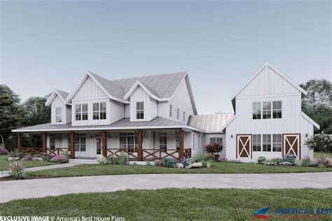 unique rustic character barn house plans