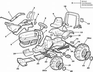 John Deere Tractor Parts Diagram