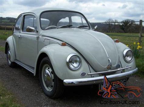 1968 (g) Volkswagen Beetle 1300,chinchilla Grey,beautiful