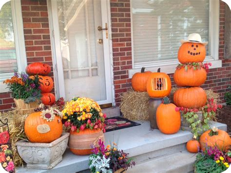 fall pumpkin decorations outside beautify your home living room with many fall decorating ideas iwemm7 com
