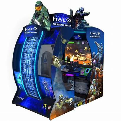 Arcade Halo Raven Fireteam Games Shooting Player