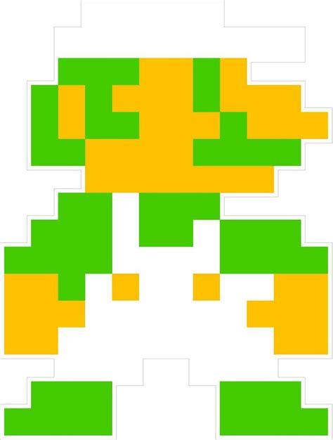 Nintendo Nes 8 Bit Super Mario Brothers Luigi 4 Vinyl