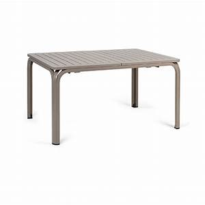 Table Jardin Design : table extensible de jardin nardi alloro 210 cm zendart design ~ Melissatoandfro.com Idées de Décoration