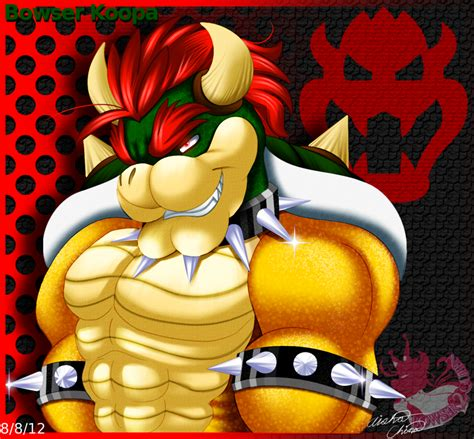 King Bowser By Bowser2queen On Deviantart