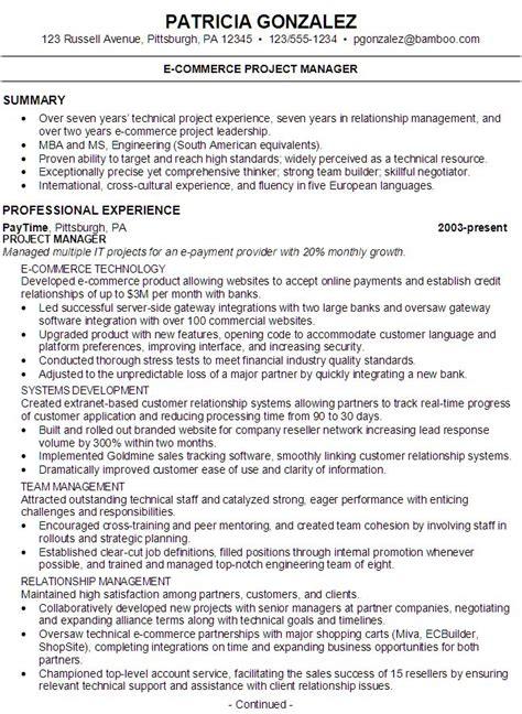 sample resume   seeking  job    commerce