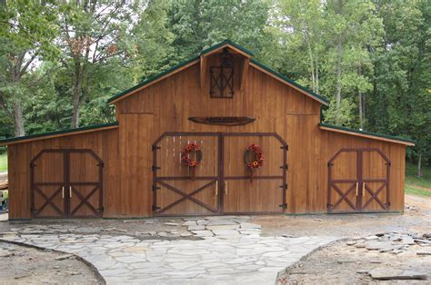 Awesome Rustic Pole Barns Pictures Ideas