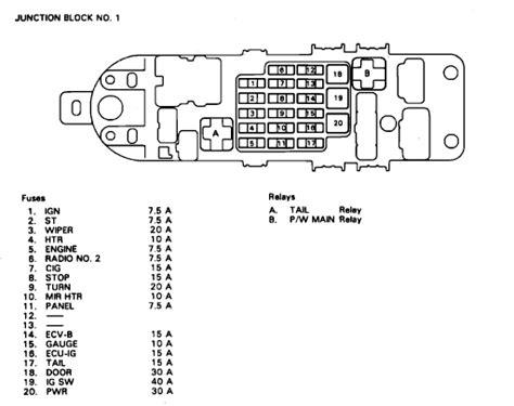 1992 Lexu Ls400 Fuse Box Diagram by Sc400 Fuse Box Junction 1 Clublexus Lexus Forum Discussion