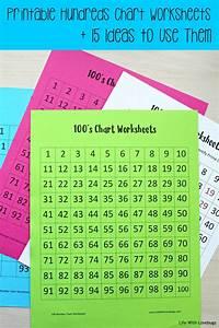 Printable Hundreds Chart Worksheets Life With Lovebugs