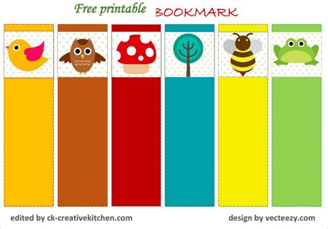 14+ Free Bookmark Templates  Psd, Vector Eps Free