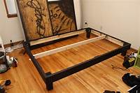 how to make a platform bed frame DIY Queen size platform bed | Projects and DIY