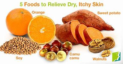 Skin Dry Itchy Foods Relieve Menopause Symptoms