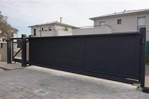 Portail 3 Metres : portails aluminium ~ Premium-room.com Idées de Décoration