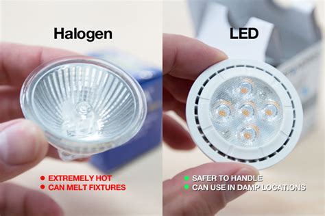 halogen vs led lighting you be the judge lighting matters