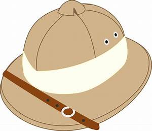 Hat clipart paleontologist - Pencil and in color hat ...