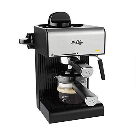 Generally selling for $70, the mr. Mr. Coffee Steam Espresso with Starter Set, Black SALE Espresso Machines Shop   BuyMoreCoffee ...