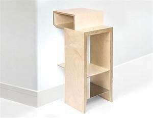 Table De Chevet Wengé : table de chevet suspense multiplis de bouleau ~ Nature-et-papiers.com Idées de Décoration