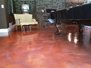 Concrete Staining 101   Acid Stain Vs Water