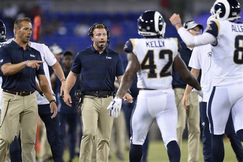 La Rams Soar To 6point Road Favorites Over Raiders On Mnf
