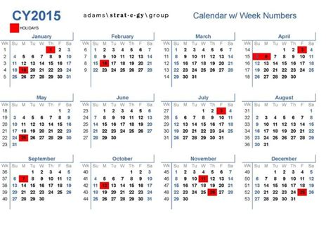 week number calendar 2015 search blogging calendar search and numbers