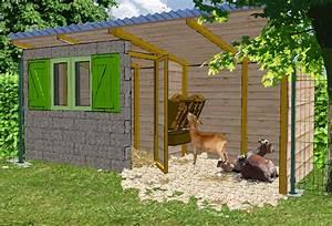 Cabane Pour Poule : la ch vrerie construire un abri pour les ch vres poulailler bio ~ Melissatoandfro.com Idées de Décoration