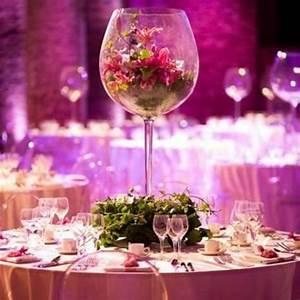 Verre à Vin Géant : vase verre a vin mariage g ant 50cm decoration mariage ~ Teatrodelosmanantiales.com Idées de Décoration